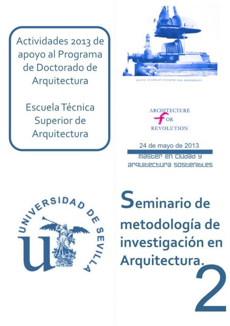 PUBLICIDAD SEMINARIO METODOLOGÍA PROGRAMA DOCT.