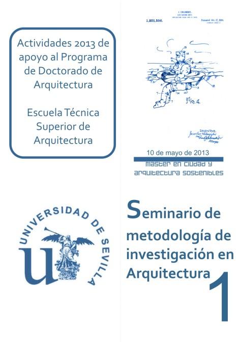 PUBLICIDAD SEMINARIO METODOLOGÍA PROGRAMA DOCT3